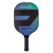 Paddletek Bantam TS-5 Polymer Composite Pickleball Paddle available in blue, gray, pink, red, or yellow.