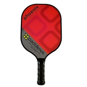 Paddletek Phoenix Pro Polymer Composite Paddle for Pickleball available in black, blue, green, orange, pink, purple, red, turquoise, or yellow.