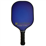 Paddletek Phoenix Ultra II Pickleball Paddle; choose from red, blue or black colors in this heavyweight paddle.
