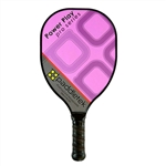 Paddletek Power Play Pro Polymer Composite Paddle for Pickleball available in black, blue, purple, or red.
