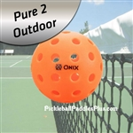 Pickleball Balls Pure 2 Outdoor-Orange