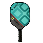Turquoise Phoenix Pro Polymer Composite Paddle