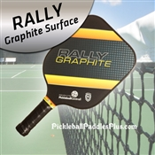 Yellow Rally Graphite Paddle