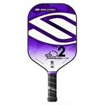 Selkirk fiberflex face, AMPED S2, available in blue, green, orange, purple or red, and in standard weight or lightweight.