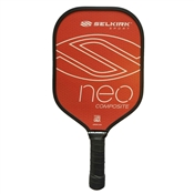 Selkirk Neo Composite Polymer Paddle for Pickleball, available in blue or red.