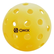 Onix Outdoor Pickleball Balls - Pure 2 , available in yellow or orange and packs of 3, 6, and 12.