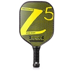 Onix Z5 Graphite Paddle for Pickleball, available in blue, green, orange, pink, purple, red, white, or yellow.
