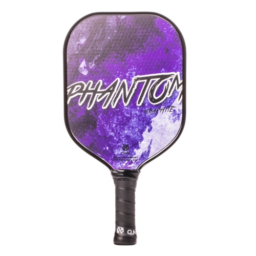 Onix Phantom Graphite Paddle for Pickleball, available in green, purple, red, blue or black.