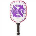 Onix Evoke XL Polymer Composite Paddle for Pickleball, available in black, blue, green, purple or red.