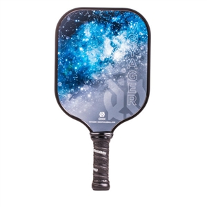 Onix Voyager Graphite Paddle for Pickleball, available in blue or purple.