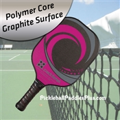 Pickleball Paddle Tempest Wave Graphite Pink