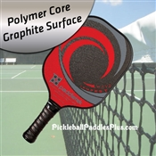 Pickleball Paddle Tempest Wave Graphite Red