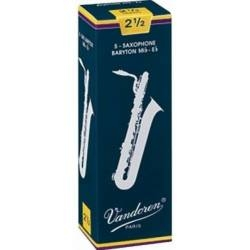 Vandoren Traditional Baritone Sax Reed Box of 5