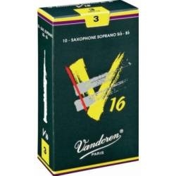 Vandoren V16 Soprano Sax Reed Box of 10