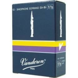 Vandoren Traditional Soprano Sax Reed Box of 10