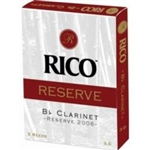 Rico Reserve Bb Clarinet Reed