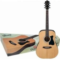 Ibanez JamPack IJV50 Quickstart Dreadnought Acoustic Guitar Pack (Natural)
