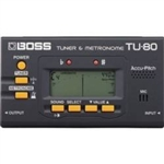 Boss TU 80 Guitar Tuner and Metronome