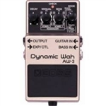 Boss AW 3 Dynamic Wah Guitar Effects Pedal with Bass Input