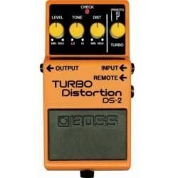 Boss DS 2 Turbo Distortion Pedal with Remote Jack