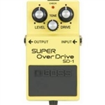 Boss Super OverDrive SD 1 Pedal
