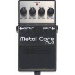 Boss ML 2 Metal Core Heavy Distortion Pedal
