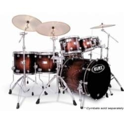 Mapex Saturn 7 Piece Plus Bass Fusion Pop 22 Drum Set