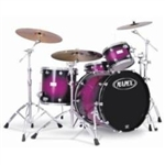 Mapex Saturn 3 Piece Plus Bass Rock 24 Drum Set