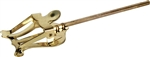 Grover Trophy Brass Marching Lyre Cornet/Trumpet Straight Stem