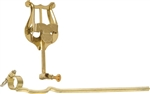 Grover Trophy Brass Marching Lyre Trombone 9/16 Inch Clamp