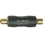 Planet Waves Single RCA Female Coupler Adapter