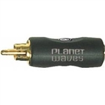 Planet Waves RCA Male to 1/8 Inch Female Mono Adapter