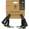 Planet Waves Classic Series Right Angle Patch Cable (3 Pack)