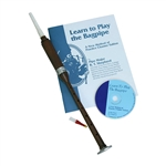 Rosewood Practice Chanter, Book & CD