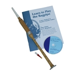 Satinwood Practice Chanter, Book & CD