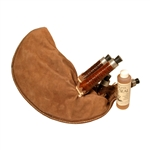 Leather Bagpipe Bag, Including Stocks