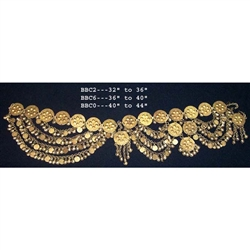 Belt, Brass, Coins & Bells 36""