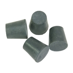 Rubber Stoppers, #3, Set of 4, Fullsize