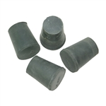 Rubber Stoppers, #2, Set of 4, Halfsize