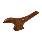 Wooden Bird Saddle Block