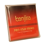 Banjira Sitar String Set, Pro, 7, Light