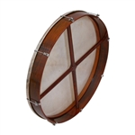 "Bodhran, 26""x3.5"", Tune, Rosewd, Cross"