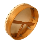 "Bodhran, 14""x3.5"", Tune, Mulberry, T-Bar"