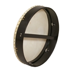 "Bodhran, 18""x3.5"", Tune, Black, Single"