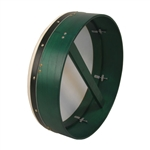 "Bodhran, 18""x5"", Tunable, Green, Single"