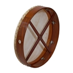 "Bodhran, 18""x3.5"", Tune, Rosewood, Cross"