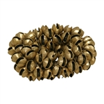 Clam Bells, Brass, Plain, 100 Count