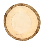 "Dholak Goatskin Unloaded Head, 8.5"", Brd"