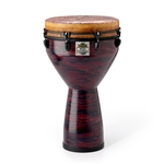 "Remo Djembe, Key, 14"", Choco Red"