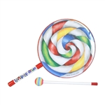 "Remo Lollipop Drum 10"" w/ Mallet, Kids"